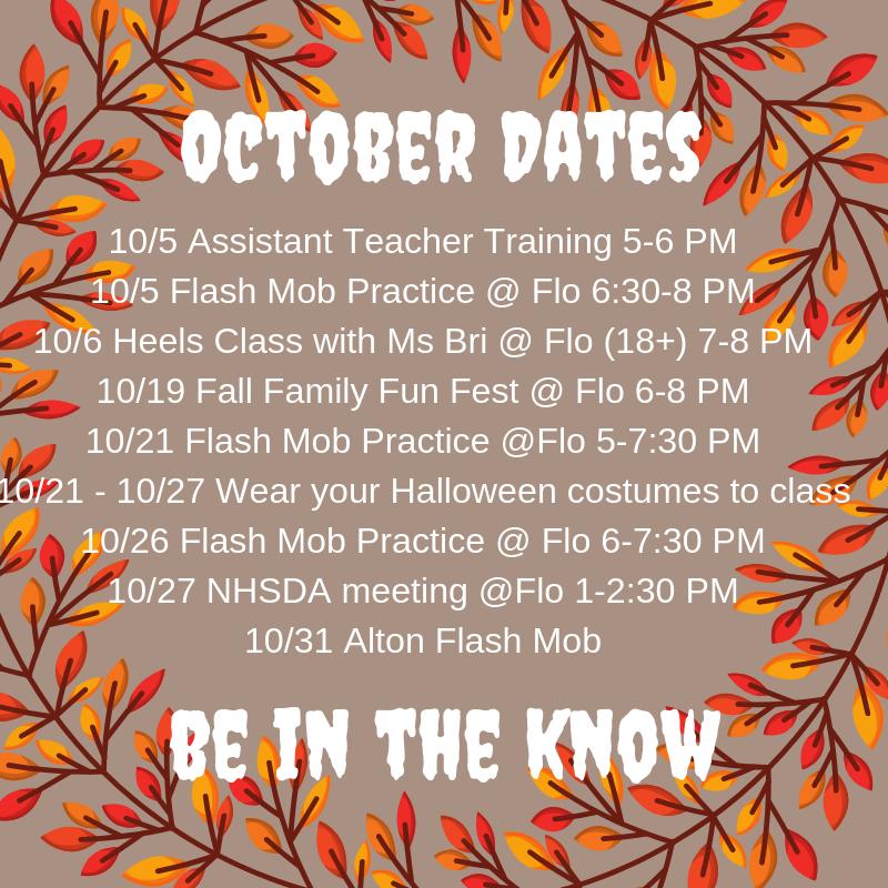 October Dates-2